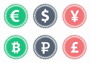 仮想通貨複数種類